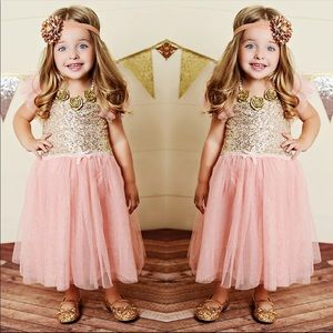 Pink beautiful Fairy dress for princess toddlers